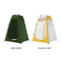 Shinny33 Tentes et refuges Portable Tente de douche extérieure Portable Protection UV Salle de bain de la pluie Camping Rain Shelt Changer la vie privée pour