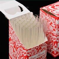 Aşk gül cam tüp 36 adet bir kutu içinde cam duman borusu tütün boru duman aksesuarı DHL ücretsiz