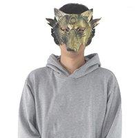 Máscaras de fiesta Halloween Horror Mascarilla Cara Completa Adulto Masculino y Mujer Hombre lobo Mata Lobo Head Mascarada Funny Horror1