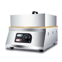 Ekmek Makineleri Tek / Çift Suffle Pişirme Makinesi Snack Bar Ekipmanları Mini Pancake Machine1