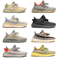 Designer Uomo Donne Scarpe Kanye West Runner Runner Sneakers Cloud Bianco Hyperspace Glow Zebra Reflective Basket Finestrars US13