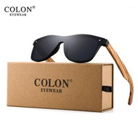 Sonnenbrille Dickdarm Holz Randlose Rahmen Square UV400 Sonnenbrille Frauen Männliche Feminino CN80211