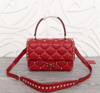 2021 새로운 패션 luxurys 디자인 가방 여러 가지 빛깔의 여자 핸드백 어깨 메신저 레이디 크로스 바디 가방 연회 가방 정품 가죽 큰