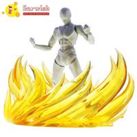 Surwish chama cena modelo de fogo efeito decoração para gundam modelo - verde ação brinquedo figuras 7 cor y200421