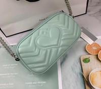 hobo de couro grosso para bolsa de ombro mulheres cadeias Peito pacote senhora Tote handbags almofada bolsa Messenger Bag bolsas 7745-M # 12x6x18cm