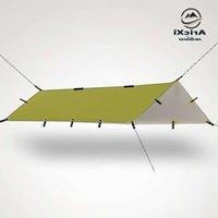 Ultralight Tarp Outdoor Camping Survival Sole Shelter Shade Shade Tending Argento Rivestimento pergola Tenda da spiaggia impermeabile