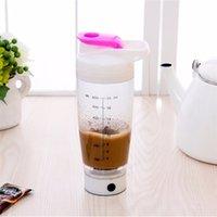 Baispo 600ml Automação Elétrica Protein Shaker Blender Meu misturador Garrafa de água Movimento automático Excursão ao ar livre Leite de café 201111