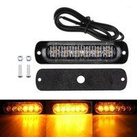 12/24 V 6 LED Auto Truck Avvertimento di emergenza LED Strobe Side Marker Light for Auto Truck Trailer Signal Sign Light1