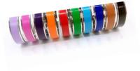 Modisch 316L Titanium Steel Französisch 18 Farbe H Armband Für Frauen Französisch Manschetten Armband Schmuck