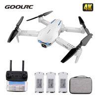 GOOLRC S162 RC Дрон с камерой 4K Мини Дрон RC Расстояние 500 метров 5G WiFi GPS-жест FPV Quadcopter Dron VS S167 SG9071