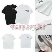 Христианская мода мужская повседневная футболка мужская дизайнер футболка мужчина Paris France Street шорты рукава одежда футболки азиатский размер S-XXL