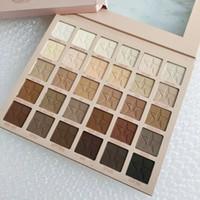 Más nuevo J CINCO STAR 30 COLOR PALETA DE EYUSHADOW Maquillaje 30 colores Paleta de ojos Matte Alta calidad Envío gratis