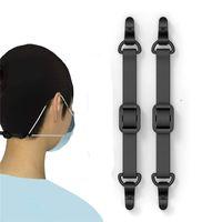 قناع الوجه موسع حزام هوك قابل للتعديل مكافحة زلة قناع الأذن القبضات تخفيف قناع آلام الأذن تثبيت مشبك JK2101XB