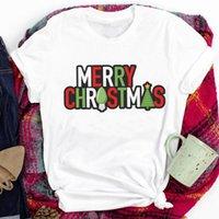 Kobiety Lady List Cartoon Drzewo Lekki Nowy Rok Wakacje Szczęśliwe Boże Narodzenie Print Tshirt Ubrania Top Graphic Kobieta T Tee T-shirt