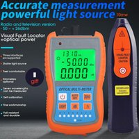 Faseroptikausrüstung 2 IN1 VFL 10MW 30MW Visual Fault Locator Test Stift FTTH Tool Kit Optical Power Meter -50 + 26 dBm