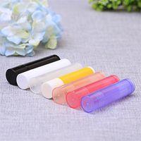 Compact Multi Color Lipgloss Tube DIY пластиковый пустой прозрачный блеск для губ помада губы восковая труба органайзер для губной липкой контейнер 0 24zm l2