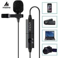 Microfono Microfono MAONO sul microfono Lavalier Microfono 6M Vivavoce condensatore microfono microfono per la fotocamera DSLR PC smartphone1