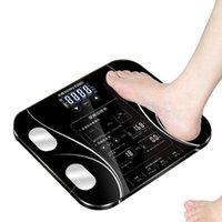 Telefone sem fio digital recebe inteligente corpo gordo escala de piso bmi monitor de peso analisador de saúde fitness perder peso ferramentas1