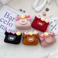 Autumn Winter Kids Mini Handbag Cute Little Girl Small Coin Wallet Money Bag Baby Girls Princess Messenger Bag Gift