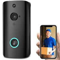 1080P Smart WiFi Security Doorbell كاميرا هاتف فيديو لاسلكي مع رؤية ليلية UY81