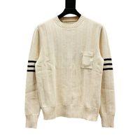 유명한 남성 스웨터 남성 최고 좋은 품질면 코지 긴 소매 스웨터 남성 여성 패션 코디 풀 점퍼 겨울 스웨터 코트