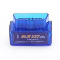 2020 Bluetooth V1.5 / V2.1 Mini ELM327 OBD2 Scanner OBD Auto Diagnostic Tool Code Reader per Windows Android Symbian English