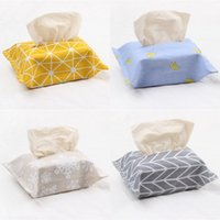 Magic Sticking Tissue Boxes Cotton and Lenzy Carta Asciugamani Borsa Asciugamano Originalità Imballaggio OPP Tovaglioli Tovaglioli Popolare Riutilizzabile 1 9BJ J1