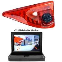 자동차 후면보기 카메라 주차 센서 브레이크 라이트 카메라 _master / -nv400 / _movano 2010-2021 5inch LCD 접이식 모니터 키트