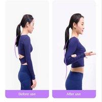 Haltung Korrektor Rücken Schulterstütze Korrekte Klammerstange Yoga Sticks Werkzeug Durable THJ991