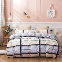 Fabrik Design billig Bettdecke Bettwäsche 100% Baumwolle Winter 4 Stück Bettwäsche Set Königsgröße