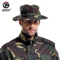 أمريكا Multicam لالتكتيكي دلو القبعات Boonie قناص التمويه النيبالية الجيش كاب زينة الرجال