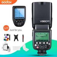 Godox V860II V860II-N GN60 i-TTL HSS 1 / 8000s Speedlite w / Li-ion con Xpro-N trasmettitore flash per fotocamera