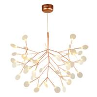 Modern Sputnik Firefly DIY Chandelier Sala luminária Quarto luz de teto para um jantar quarto Home Decor PA0217