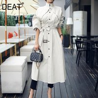 [DEAT] New Autumn Office Lady Bat Sleeved Long Length Wild S...