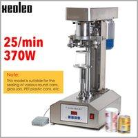 Machine d'étanchéité sur l'alimentation sous vide Xeoleo Can Scellant en acier inoxydable en acier inoxydable Sourleur en filet-tiroir à anneau semi-automatique