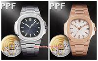 7 نمط مثالي النسخة PPF صانع الرجال 40.5 ملليمتر 5711 / 1A-011 904 الصلب الأعلى cal.324 s c حركة الميكانيكية التلقائي رجل ووتش الساعات