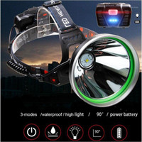 Bright P50 LED Headlamp frontal 18650 miner head torches sea...