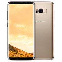 재조정 된 원래 삼성 갤럭시 S8 G950F G950U 5.8 인치 옥타 코어 4GB RAM 64GB ROM 12MP 4G LTE Android 휴대 전화 DHL 도매 10pcs