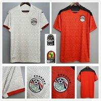 2020 New Egypt maglia da calcio M. SALAH casa rosso bianco assente 20 camice uniformi 21 Mahmoud Kahraba A. Hegazi RAMADAN M.ELNENY uomini personalizzati footbal