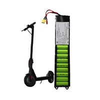 Elektrik scooter 18650 10s3p matris lityum iyon 36V 6AH 6.6Ah 7.5ah 7.8AH pil paketi Li iyon