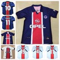 Maillots de Football Kit 1998 1999 Retro Soccer Jerseys Simone Okocha Leroy Rodriguez Lachuer 98 99 Classic Vintage Football Shirt