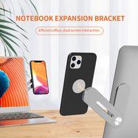 Universal Mobile Phone Metallständer PC 2 in 1 Handy-Halter-Notebook-Legierung Handy-Erweiterung Standplatz-Tablette HHB2337