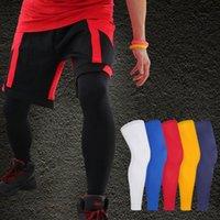 1 Adet Yeni Spor Diz Koruyucu Ayraç Kayış Nefes ANTİ-UV Açık Bisiklet Bacak Kol Basketbol Bacak Kol Diz Desteği Pedler