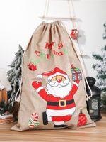 """SANTA SACKS с новым годом новогодние рождественские украшения Большой подарочный мешок для детей подарок хранение 23.2 """"x15"""" JK2011XB"""