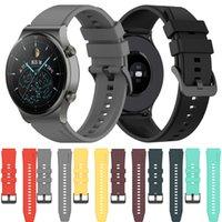 Für Huawei GT2 Pro Band Silikonarmband für Huawei GT2 Pro Uhrenband für Huawei Uhr GT 2 Pro 46mm Armband Armband 22mm
