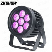 80% OFF 4PCS Lot 7*10W RGBW LED Par Light Waterproof IP65 DMX RDM Control OLED Display for DJ Disco Party Wedding Show Stage Lighting