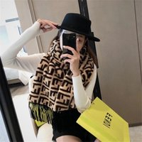 2020 Top quality Designer Scarves Winter men's women's Scarves Beanie Luxury warm European brand Knitted Fashion women adult scarf