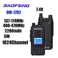 무전기 토키 Baofeng 딜러 디지털 햄 라디오 듀얼 밴드 모바일 트랜시버 DMR 1702 모드 전문 FM1