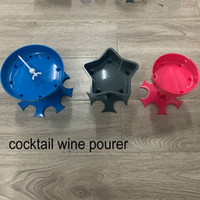 5 stücke schiff 6shot glaspenser halter wein spender träger caddy liquor dispenser party trinking spiele bar cocktail weiner