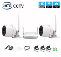 2CH 2MP Wifi NVR kit Mini Home security System HD 1080P H. 26...
